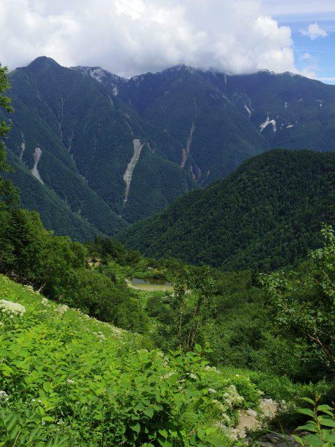 北岳(左俣コース)登山口コースガイド 草スベリ【登山口ナビ】