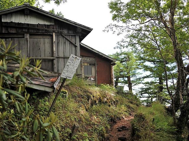 富士山 御中道(大沢崩れ) 登山口コースガイド 大沢休憩所【登山口ナビ】