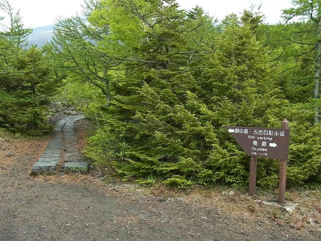 富士山 御中道(大沢崩れ) 登山口コースガイド 奥庭登山口【登山口ナビ】
