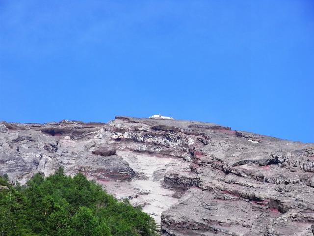 富士山 御中道(大沢崩れ) 登山口コースガイド 山頂測候所【登山口ナビ】