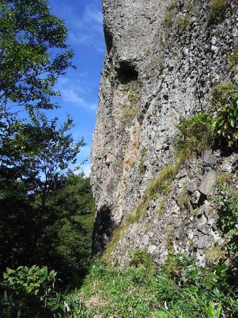 戸隠山(西岳・本院岳~P1尾根) 登山口コースガイド 岩壁【登山口ナビ】
