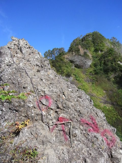 戸隠山(西岳・本院岳~P1尾根) 登山口コースガイド 蟻の戸渡トラバースルート【登山口ナビ】