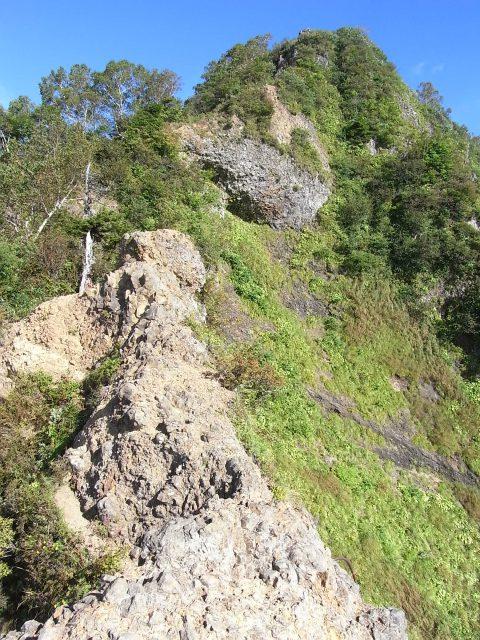 戸隠山(西岳・本院岳~P1尾根) 登山口コースガイド 剣の刃渡り【登山口ナビ】