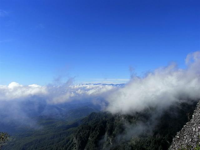戸隠山(西岳・本院岳~P1尾根) 登山口コースガイド 八方睨からの北アルプス【登山口ナビ】