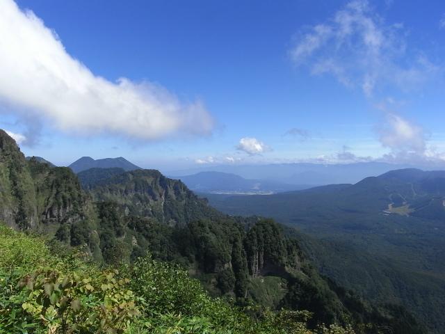 戸隠山(西岳・本院岳~P1尾根) 登山口コースガイド 稜線からのダイレクト尾根・八方睨【登山口ナビ】
