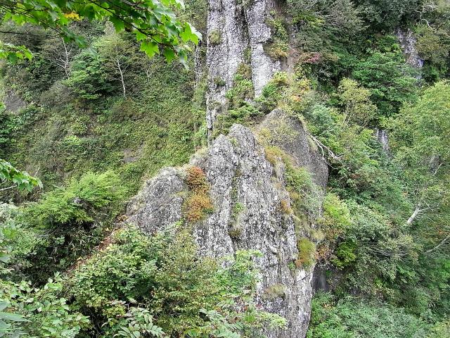 戸隠山(西岳・本院岳~P1尾根) 登山口コースガイド 蟻の戸渡【登山口ナビ】