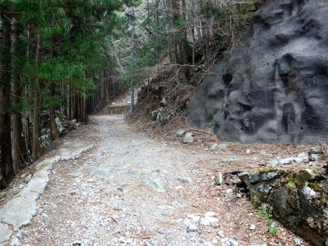 乾徳山(銀晶水・徳和コース)登山口コースガイド 徳和林道【登山口ナビ】