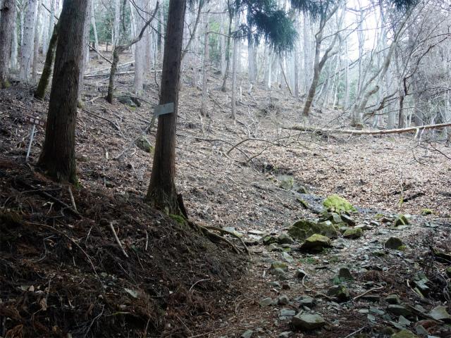 乾徳山(銀晶水・徳和コース)登山口コースガイド 銀晶水下部【登山口ナビ】