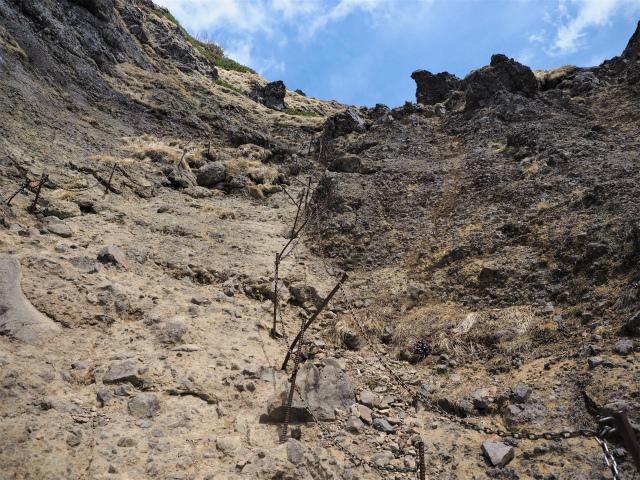 八ヶ岳・横岳(県界尾根)登山口コースガイド ルンゼの急登【登山口ナビ】