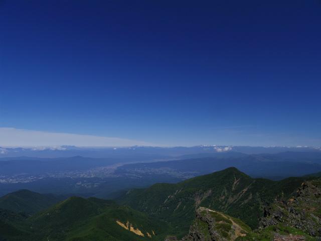 八ヶ岳・横岳(県界尾根)登山口コースガイド 三叉峰山頂からの北アルプス【登山口ナビ】