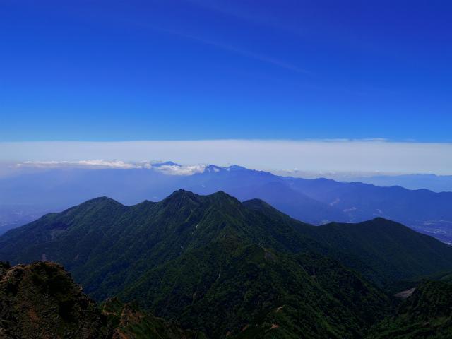 八ヶ岳・赤岳(南沢~文三郎尾根) 登山口コースガイド 山頂からの南アルプス展望【登山口ナビ】
