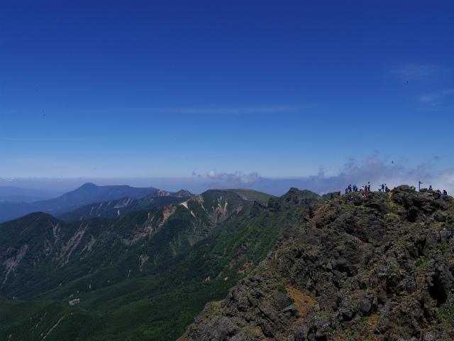 八ヶ岳・赤岳(南沢~文三郎尾根) 登山口コースガイド 山頂からの八ヶ岳展望【登山口ナビ】