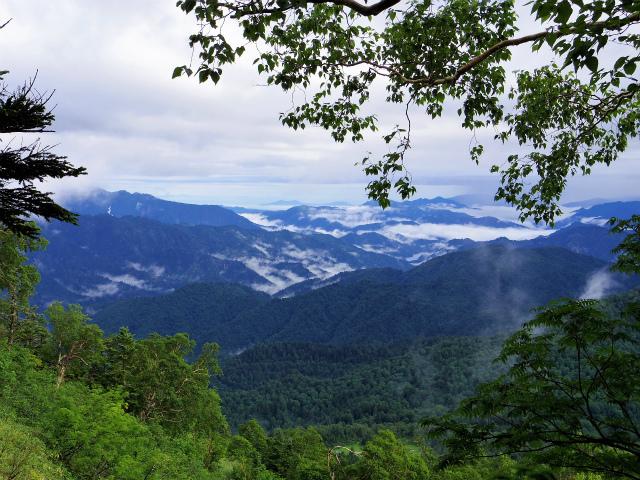 燧ヶ岳 俎嵓・柴安嵓(御池コース)5合目付近からの景色 【登山口ナビ】