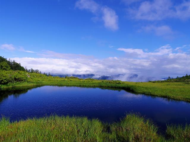 燧ヶ岳 俎嵓・柴安嵓(御池コース)熊沢田代西の池 【登山口ナビ】