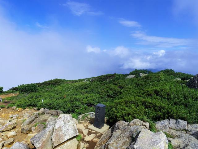 燧ヶ岳 俎嵓・柴安嵓(御池コース) 山頂平場【登山口ナビ】