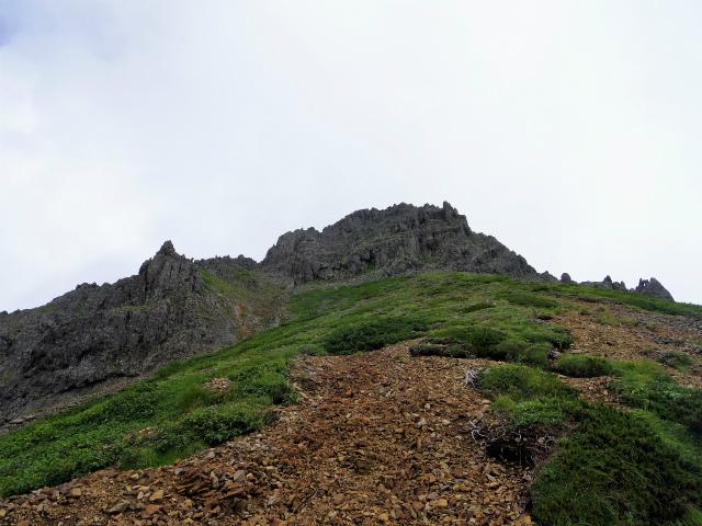 八ヶ岳・赤岳(南沢~文三郎尾根) 登山口コースガイド ざれの斜面【登山口ナビ】