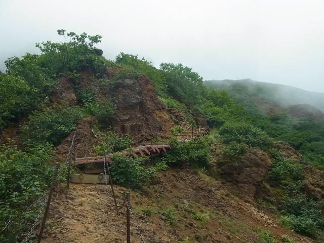 八ヶ岳・赤岳(南沢~文三郎尾根) 登山口コースガイド 階段【登山口ナビ】