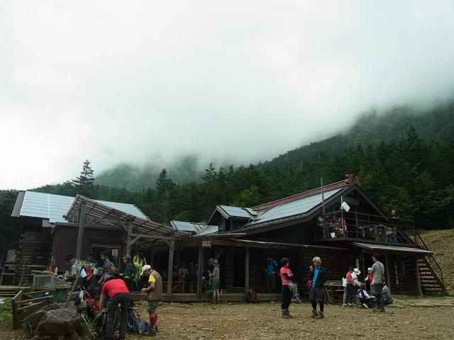 八ヶ岳・赤岳(南沢~文三郎尾根) 登山口コースガイド 行者小屋【登山口ナビ】