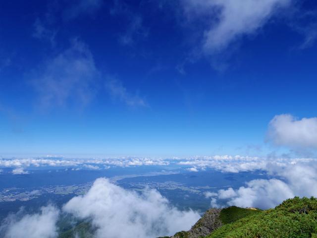八ヶ岳・阿弥陀岳(立場岳~南陵尾根)登山口コースガイド 山頂からの展望【登山口ナビ】
