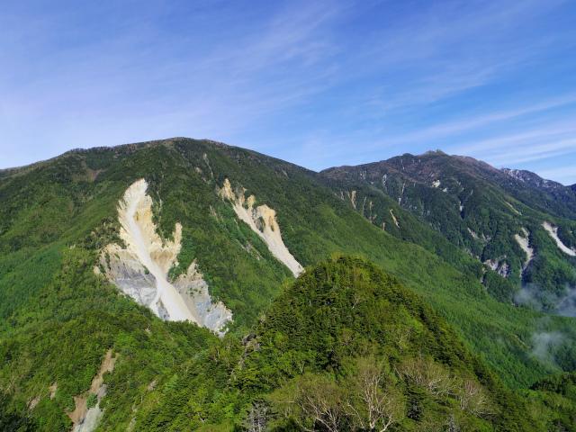 辻山(甘利山~千頭星山)登山口コースガイド 辻山と鳳凰山【登山口ナビ】