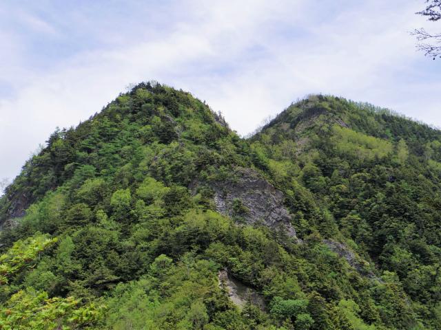 辻山(甘利山~千頭星山)登山口コースガイド 千頭星山と岩峰【登山口ナビ】
