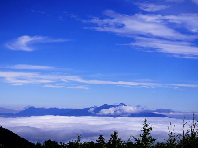 辻山(甘利山~千頭星山)登山口コースガイド 辻山山頂からの八ヶ岳【登山口ナビ】