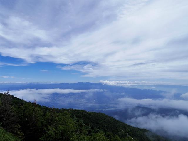 鳳凰三山(夜叉神峠~砂払岳)登山口コースガイド 砂払岳からの奥秩父【登山口ナビ】