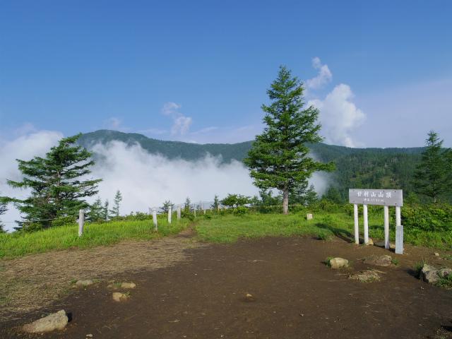 辻山(甘利山~千頭星山)登山口コースガイド 甘利山山頂【登山口ナビ】