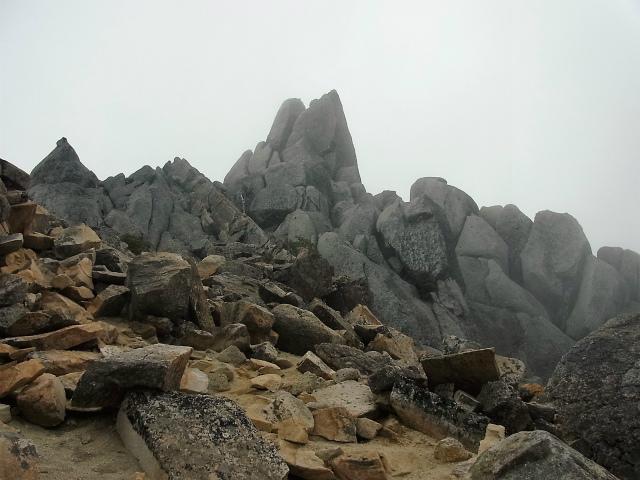 鳳凰三山(夜叉神峠~砂払岳)登山口コースガイド 地蔵岳オベリスク【登山口ナビ】