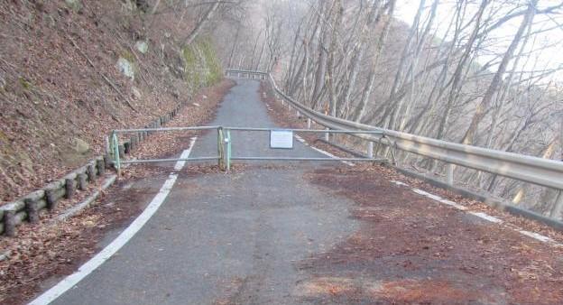 【白州日向山】尾白川林道の通行規制【登山口ナビ】