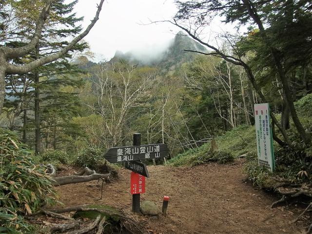 皇海山・鋸山(不動沢コース)登山口コースガイド 不動沢のコル【登山口ナビ】