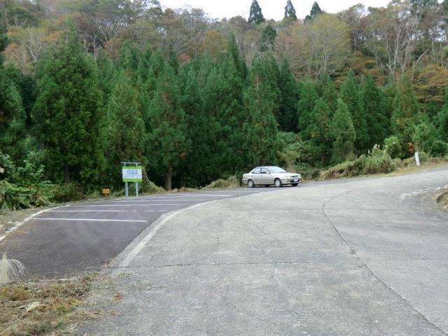 白鳥山、犬ヶ岳の登山口、坂田峠の駐車場情報