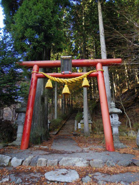 石割山(石割神社) 登山口コースガイド 表参道鳥居【登山口ナビ】