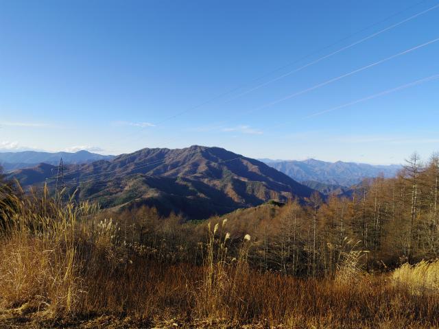 石割山(石割神社) 登山口コースガイド 石割山山頂からの三ツ峠【登山口ナビ】