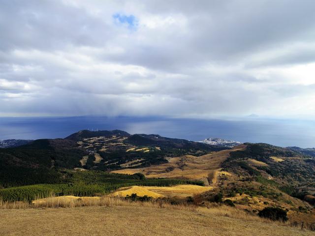 三筋山(天城三筋山遊歩道) 絶景ポイントからの細野高原【登山口ナビ】
