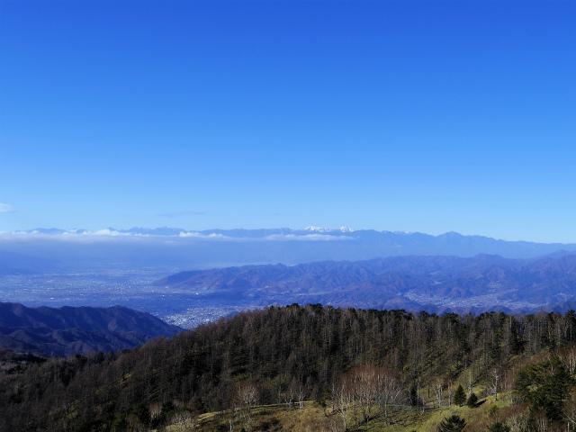 大菩薩嶺(富士見新道) 登山口コースガイド テラス上部から南アルプスの眺望【登山口ナビ】