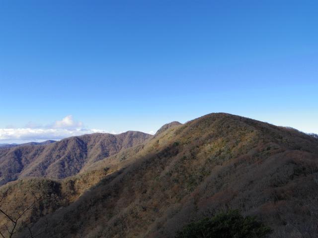 天城山(万二郎岳~万三郎岳周回)登山口コースガイド 縦走路からの馬の背【登山口ナビ】