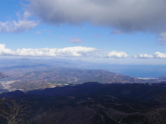 天城山(万二郎岳~万三郎岳周回)登山口コースガイド 万三郎岳山頂付近からの眺望【登山口ナビ】