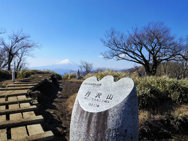 丹沢山(丹沢三峰~本間橋 下山ルート) 登山口コースガイド【登山口ナビ】