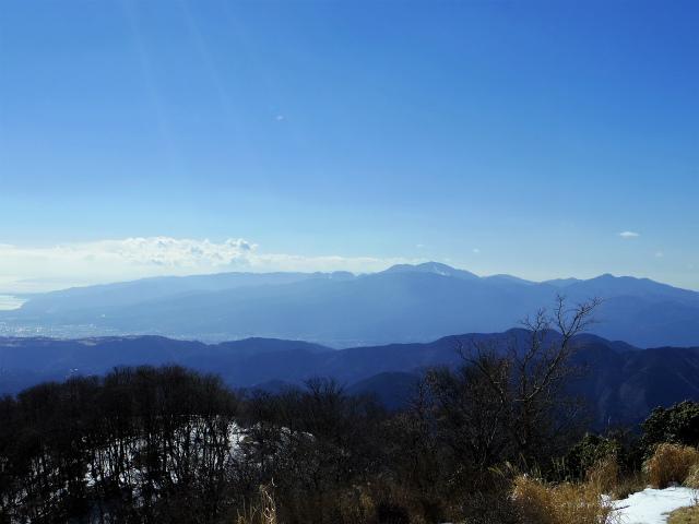 鍋割山(二俣~後沢乗越コース)コースガイド 鍋割山山頂からの箱根【登山口ナビ】