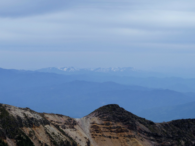 黒斑山(表コース・中コース) 登山口コースガイド 黒斑山山頂からの日光の眺望【登山口ナビ】