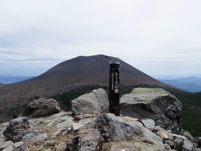 黒斑山(表コース・中コース) 登山口コースガイド トーミの頭山頂【登山口ナビ】