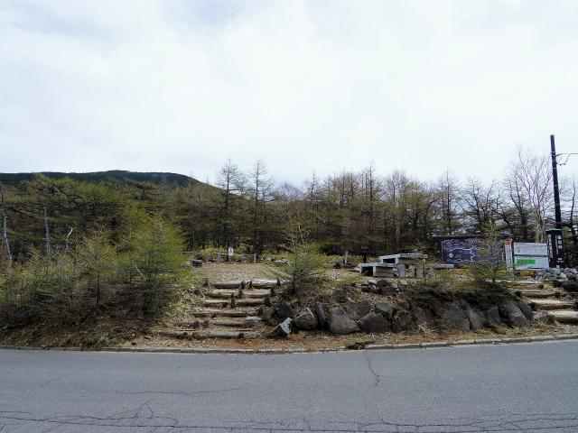 黒斑山(表コース・中コース) 登山口コースガイド 車坂峠登山道入口【登山口ナビ】