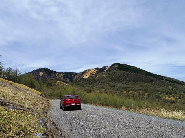 【山まで試乗】マツダ・CX-3 XDプロアクティブ 湯の丸高峰林道【登山口ナビ】