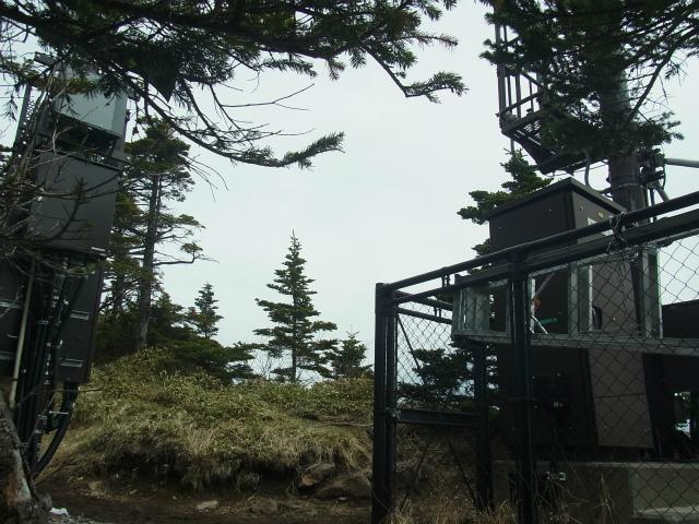 黒斑山(表コース・中コース) 登山口コースガイド 火山ガス計測器【登山口ナビ】