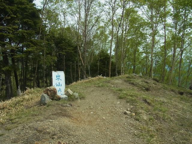 和名倉山(三ノ瀬~東仙波)登山口コースガイド 東仙波山頂【登山口ナビ】