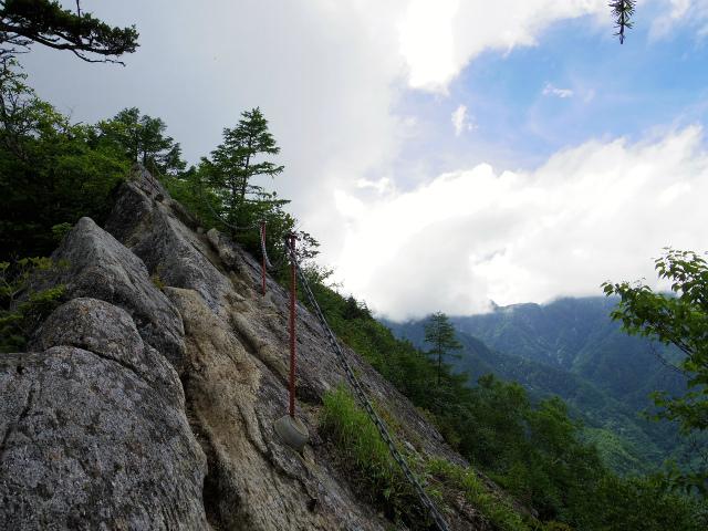 甲斐駒ヶ岳(黒戸尾根)登山口コースガイド 刃渡り【登山口ナビ】