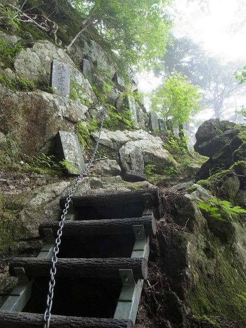 甲斐駒ヶ岳(黒戸尾根)登山口コースガイド 石碑【登山口ナビ】