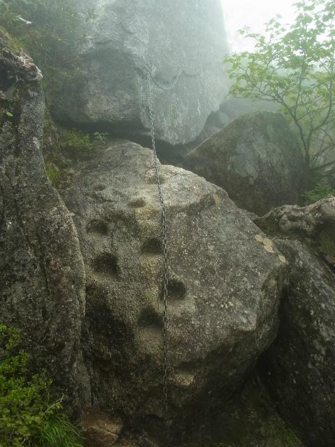 甲斐駒ヶ岳(黒戸尾根)登山口コースガイド 鎖場【登山口ナビ】