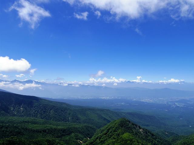 八ヶ岳・天狗岳(西尾根~黒百合平周回) 登山口コースガイド 西天狗山頂からの南アルプスと中央アルプス【登山口ナビ】